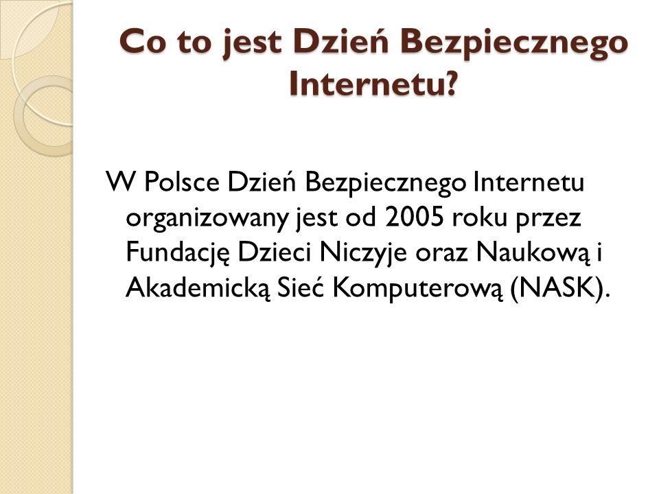 Co to jest Dzień Bezpiecznego Internetu
