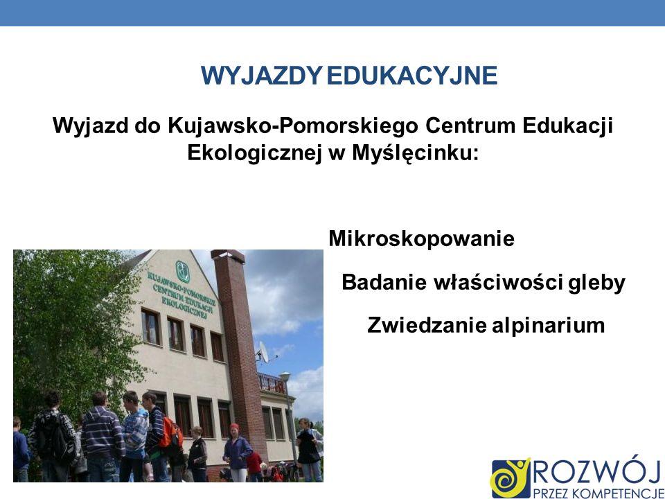 Wyjazdy edukacyjne
