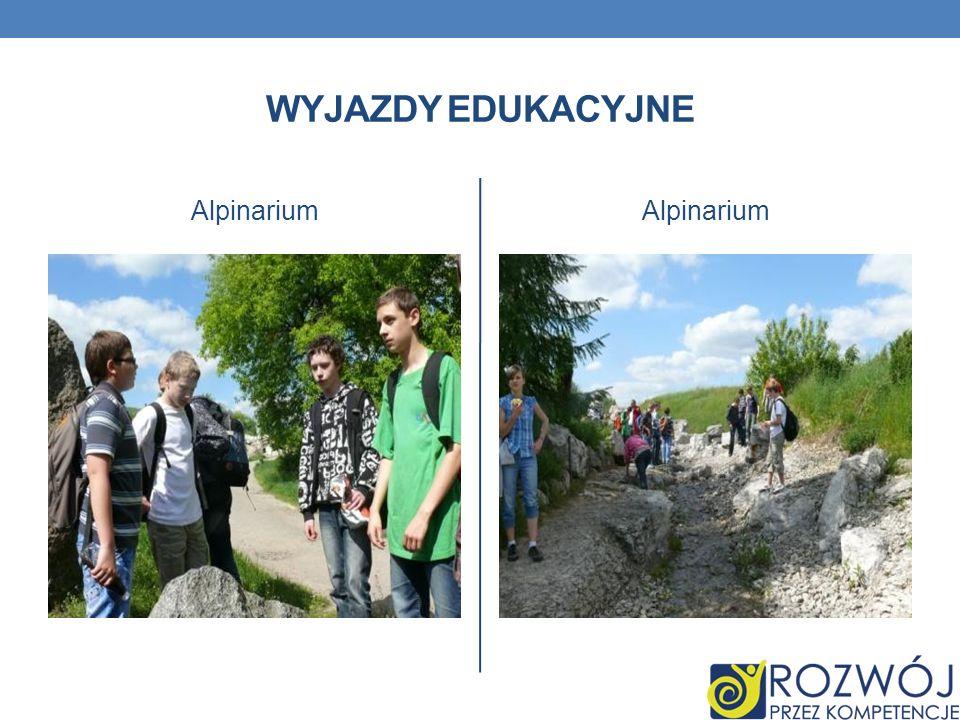 Wyjazdy edukacyjne Alpinarium Alpinarium