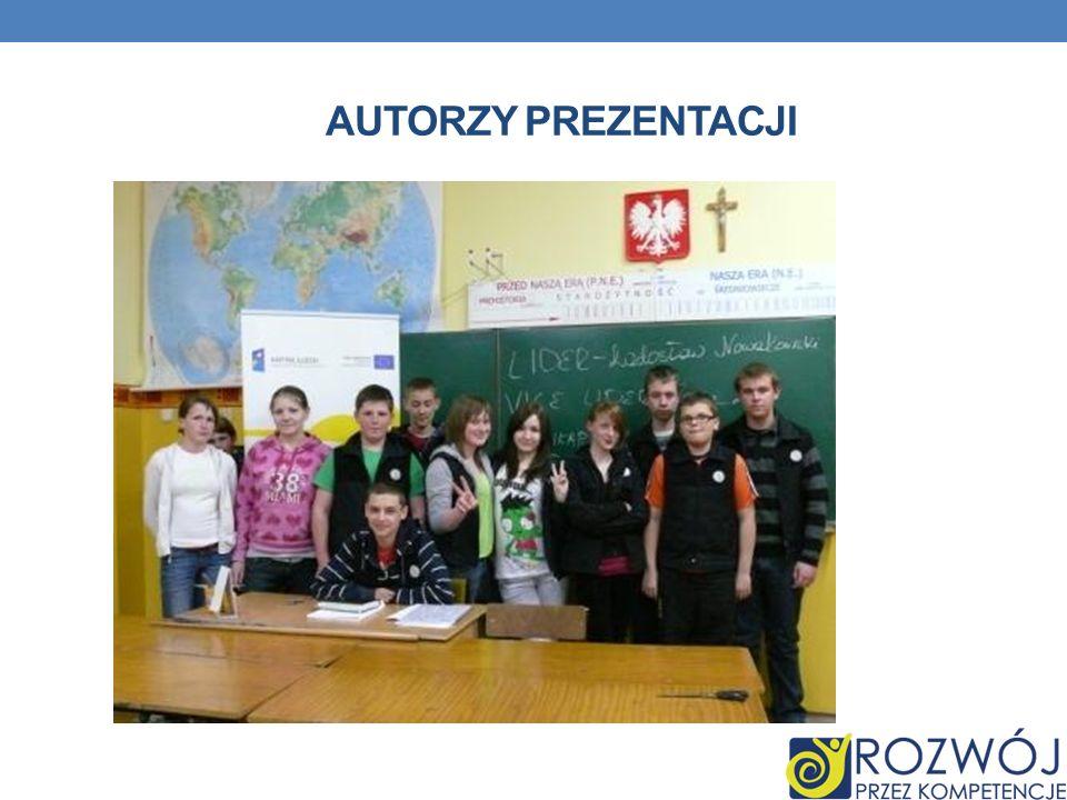 Autorzy prezentacji