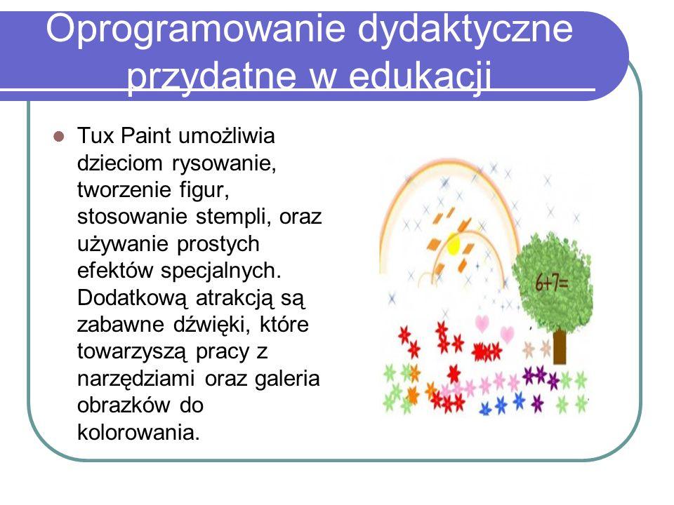 Oprogramowanie dydaktyczne przydatne w edukacji