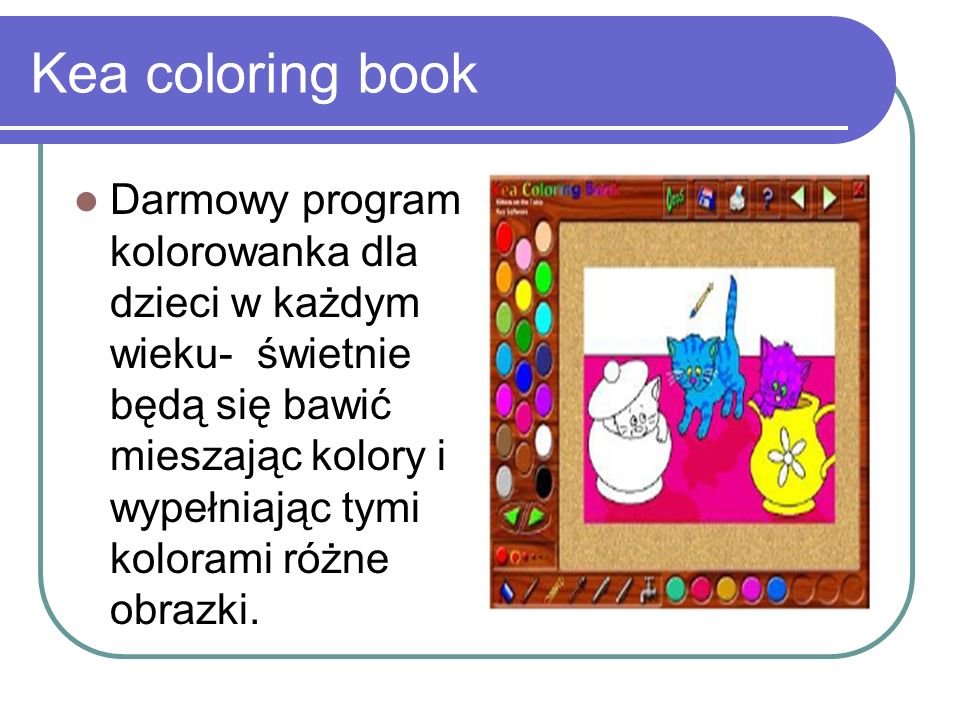 Kea coloring book