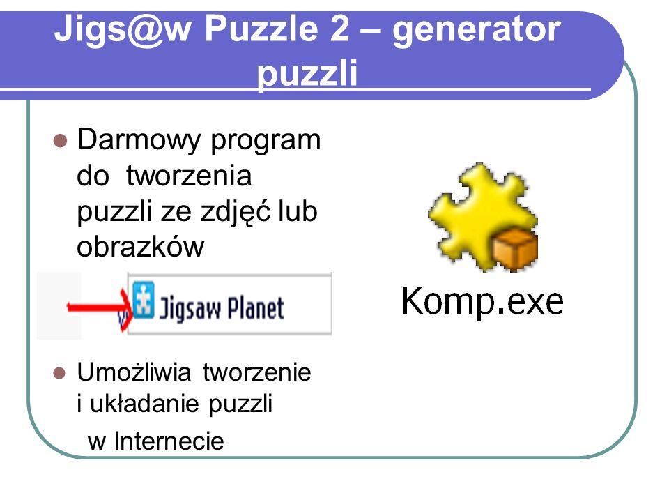 Jigs@w Puzzle 2 – generator puzzli