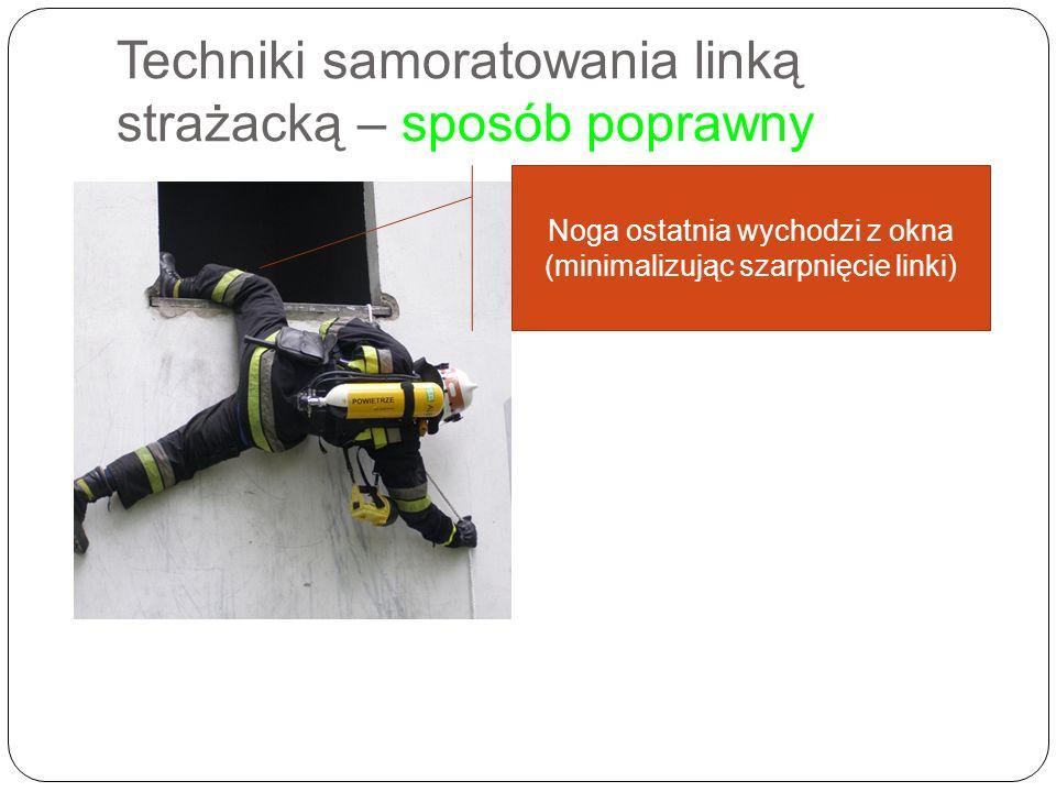 Techniki samoratowania linką strażacką – sposób poprawny