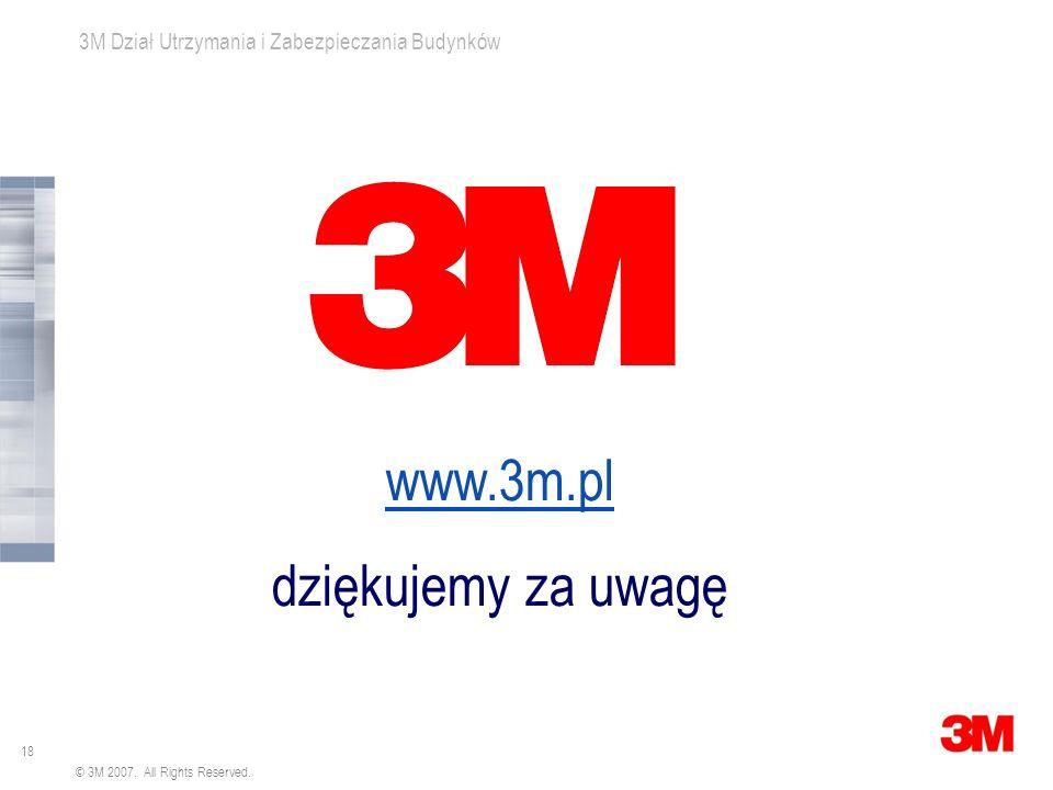 www.3m.pl dziękujemy za uwagę