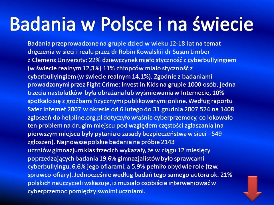 Badania w Polsce i na świecie
