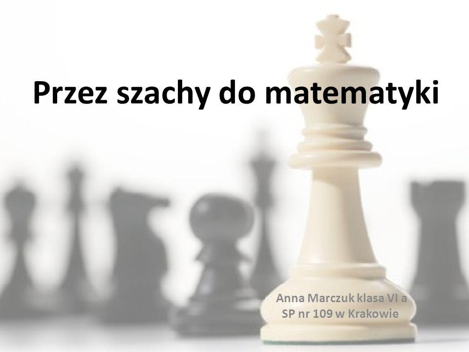Przez szachy do matematyki