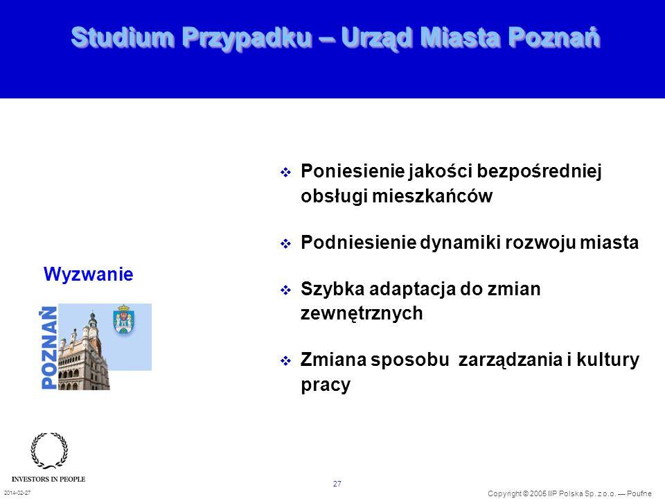 Studium Przypadku – Urząd Miasta Poznań