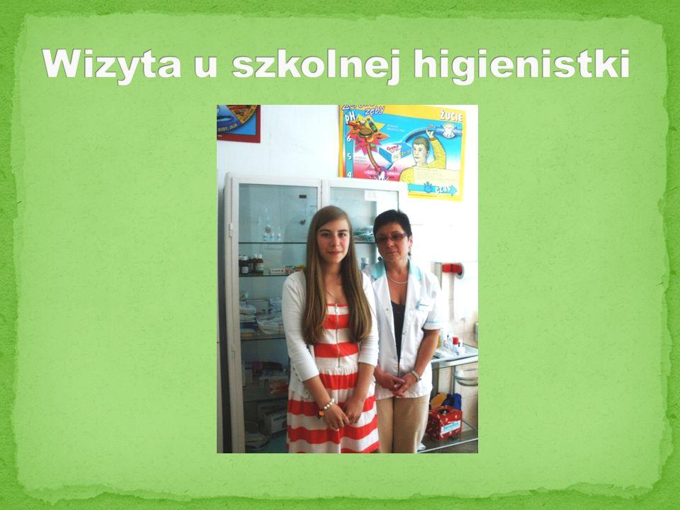 Wizyta u szkolnej higienistki