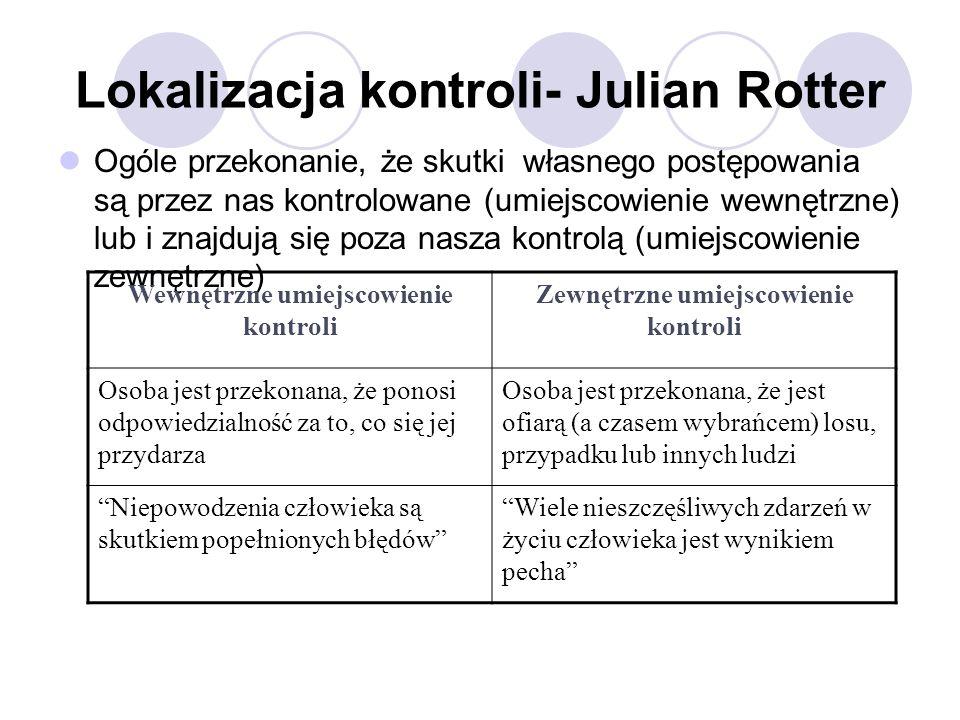 Lokalizacja kontroli- Julian Rotter