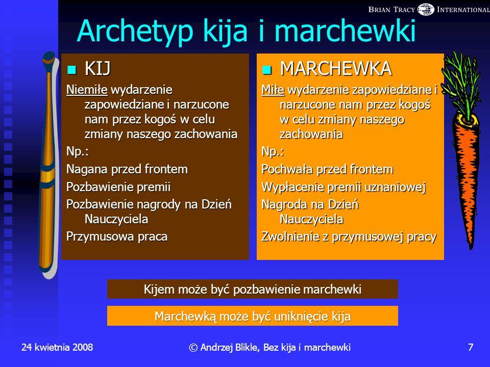 Archetyp kija i marchewki