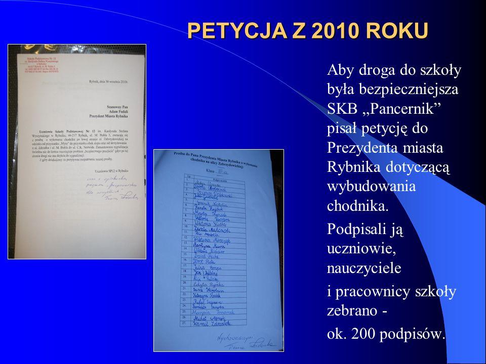 PETYCJA Z 2010 ROKU
