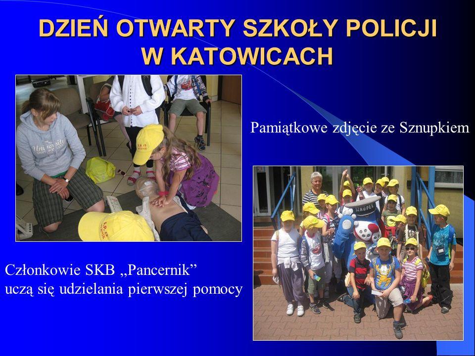 DZIEŃ OTWARTY SZKOŁY POLICJI W KATOWICACH