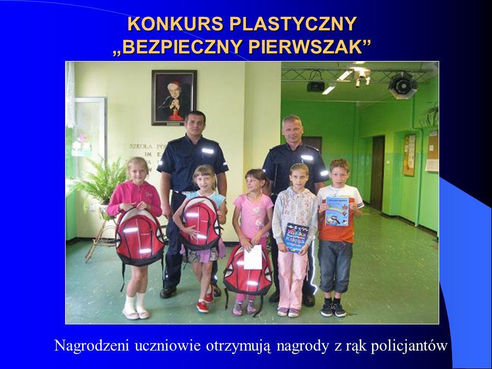 """KONKURS PLASTYCZNY """"BEZPIECZNY PIERWSZAK"""
