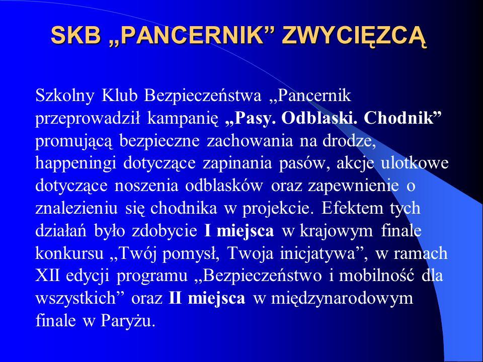 """SKB """"PANCERNIK ZWYCIĘZCĄ"""