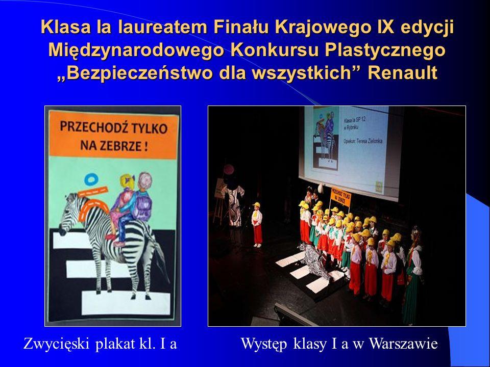 Występ klasy I a w Warszawie