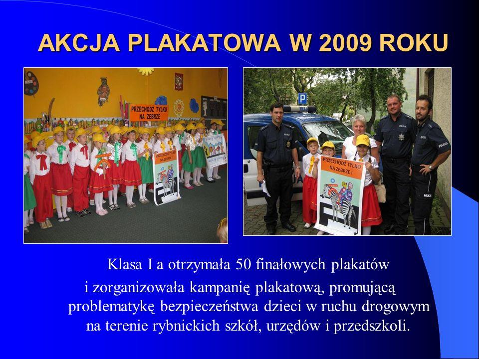 Klasa I a otrzymała 50 finałowych plakatów