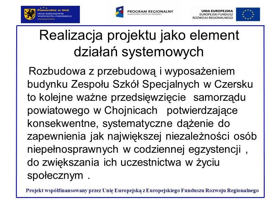 Realizacja projektu jako element działań systemowych