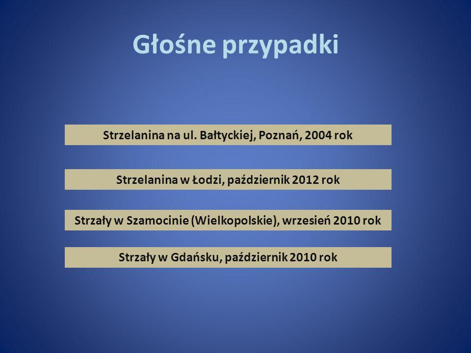 Głośne przypadki Strzelanina na ul. Bałtyckiej, Poznań, 2004 rok