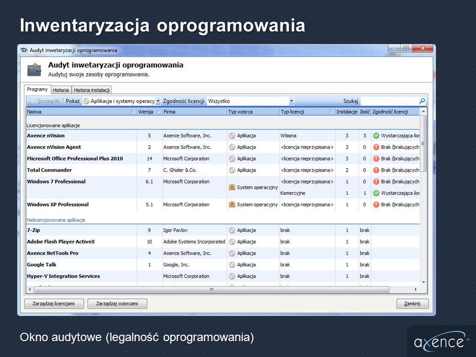 Okno audytowe (legalność oprogramowania)