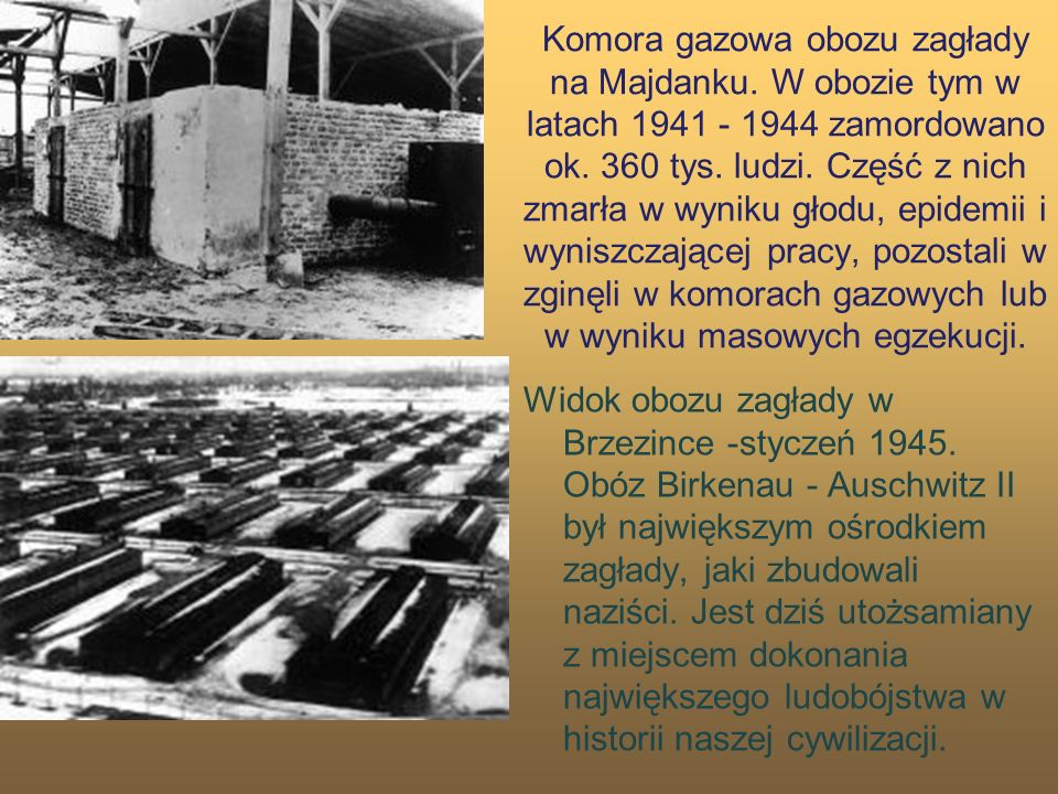 Komora gazowa obozu zagłady na Majdanku