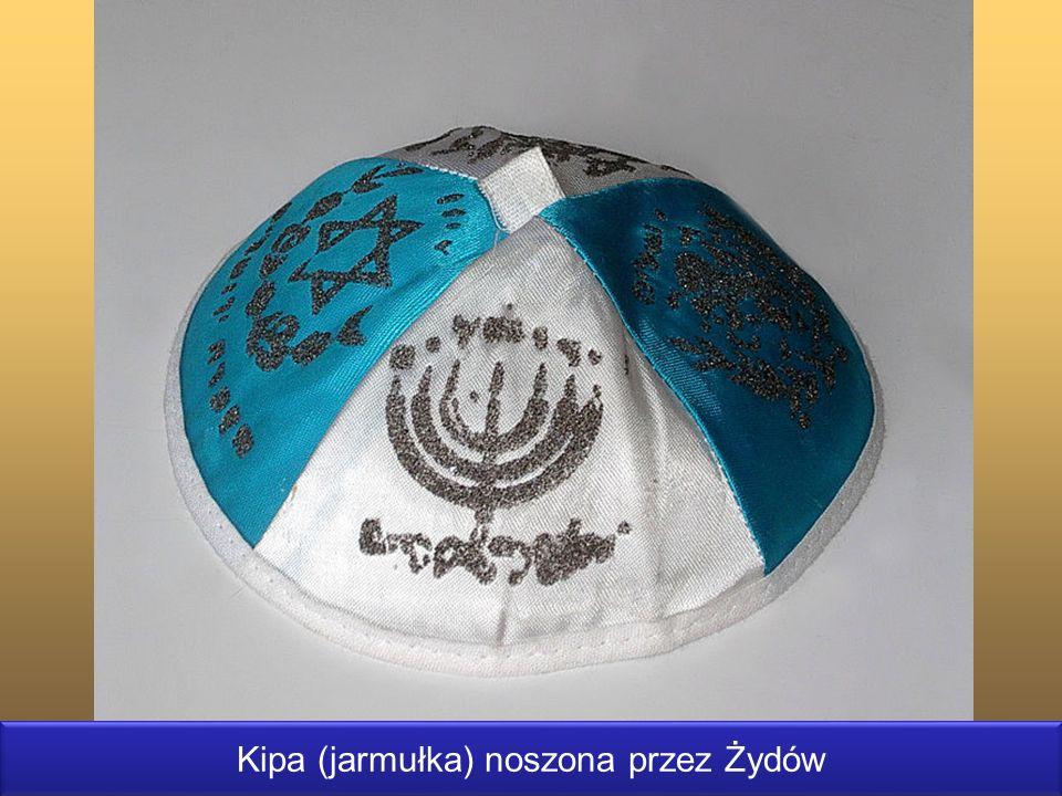 Kipa (jarmułka) noszona przez Żydów
