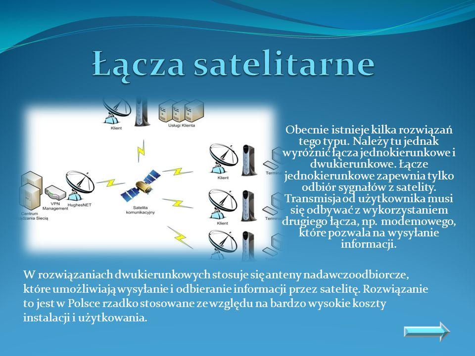 Łącza satelitarne
