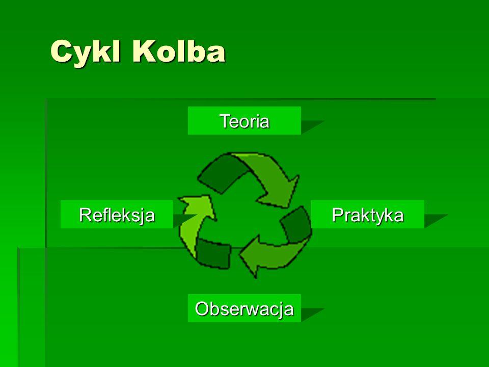 Cykl Kolba Teoria Refleksja Praktyka Obserwacja