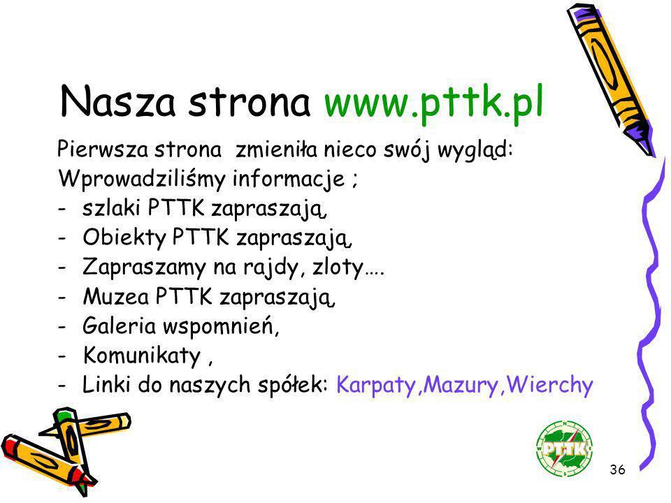 Nasza strona www.pttk.pl