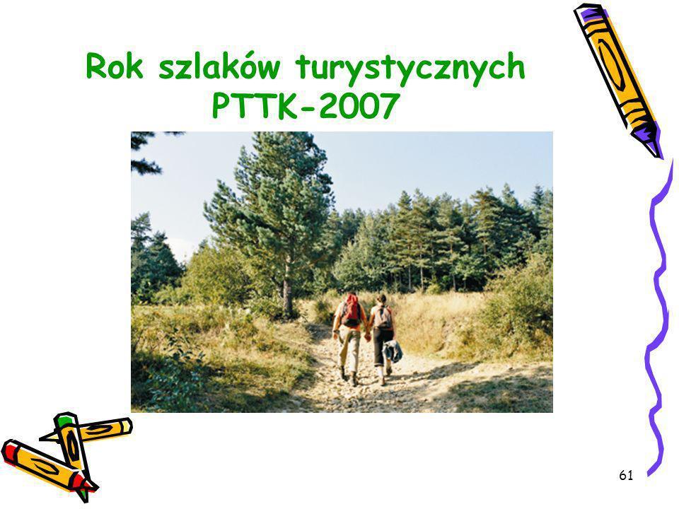 Rok szlaków turystycznych PTTK-2007