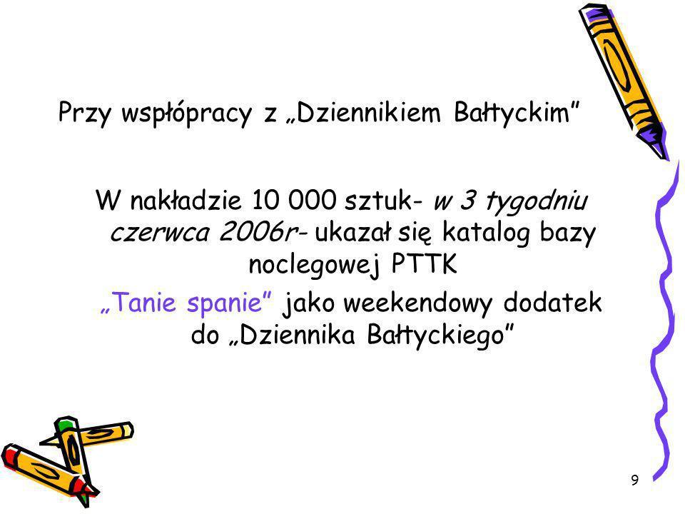 """Przy wspłópracy z """"Dziennikiem Bałtyckim"""