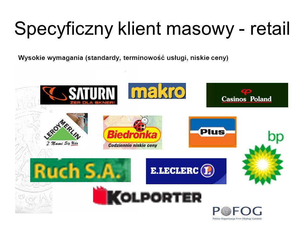 Specyficzny klient masowy - retail