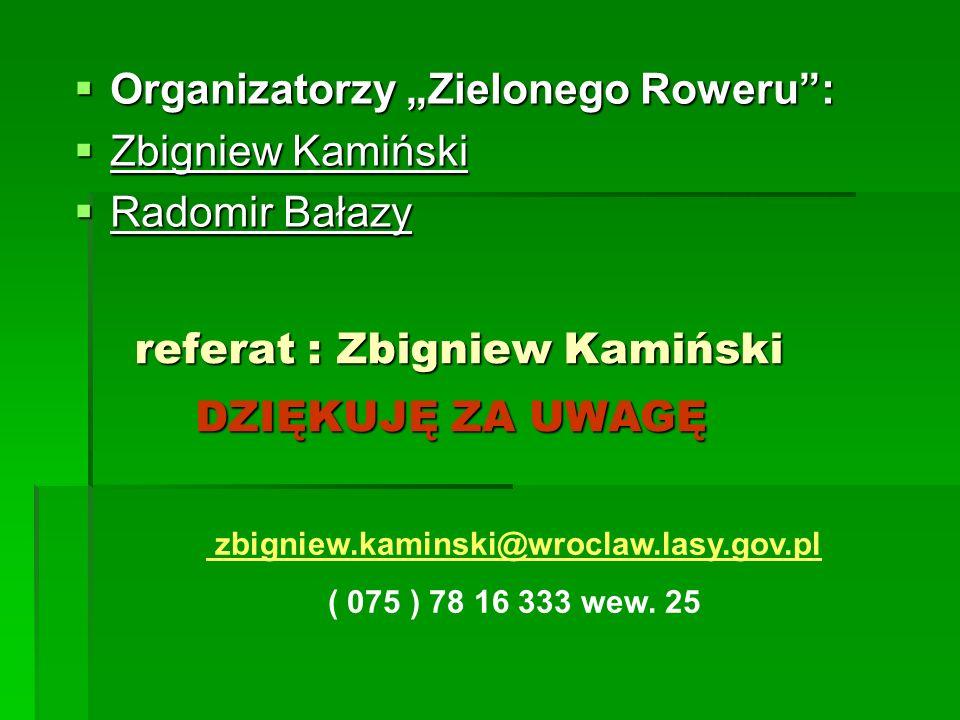 referat : Zbigniew Kamiński