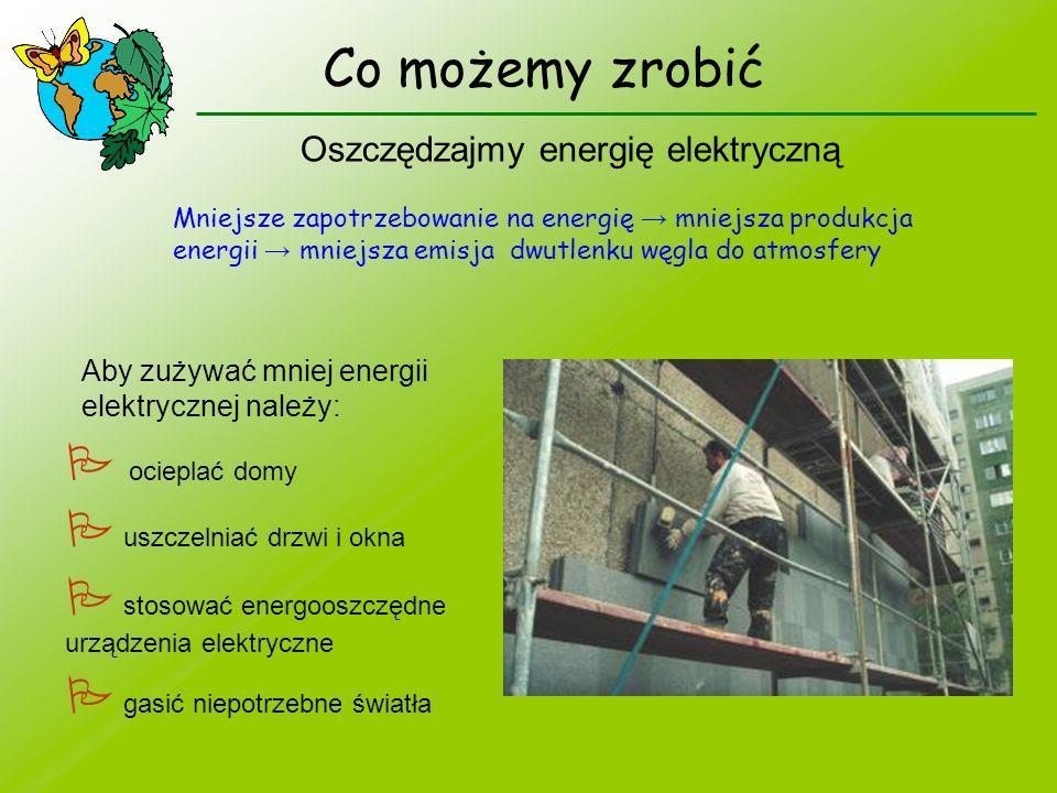 Oszczędzajmy energię elektryczną