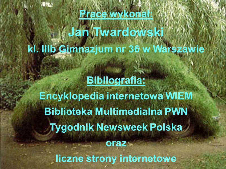 Jan Twardowski Pracę wykonał: kl. IIIb Gimnazjum nr 36 w Warszawie