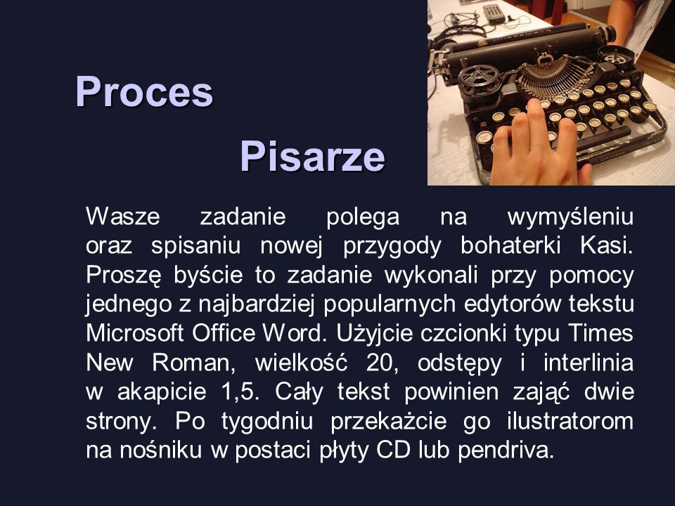 Pisarze Proces.