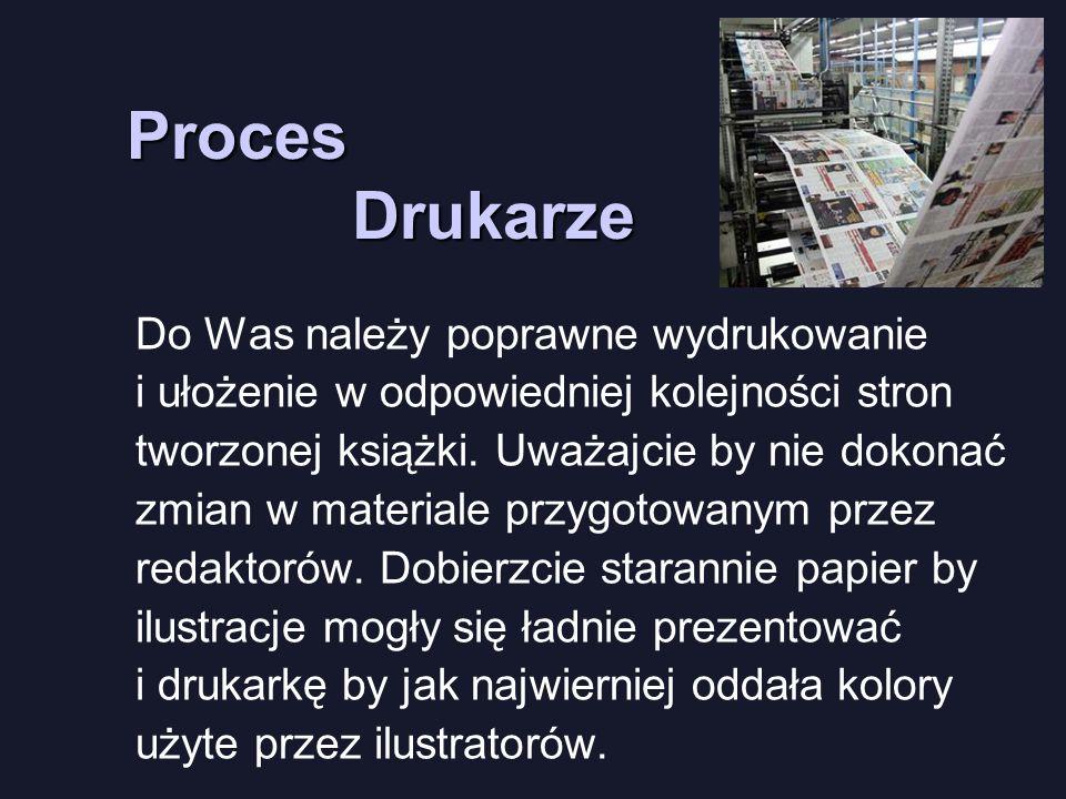 Drukarze Proces.