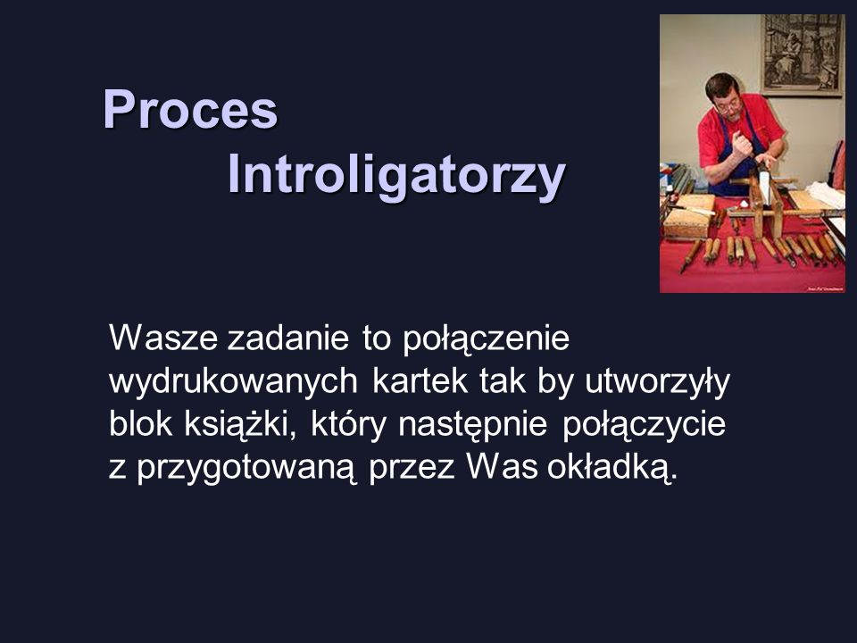 Proces Introligatorzy
