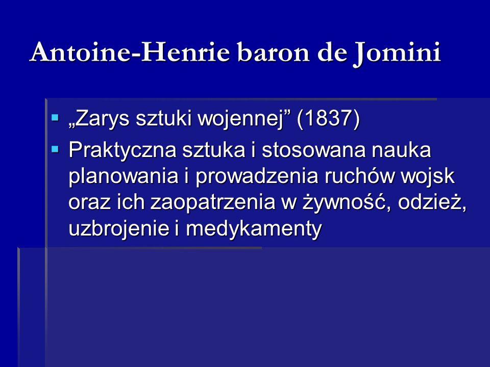 Antoine-Henrie baron de Jomini