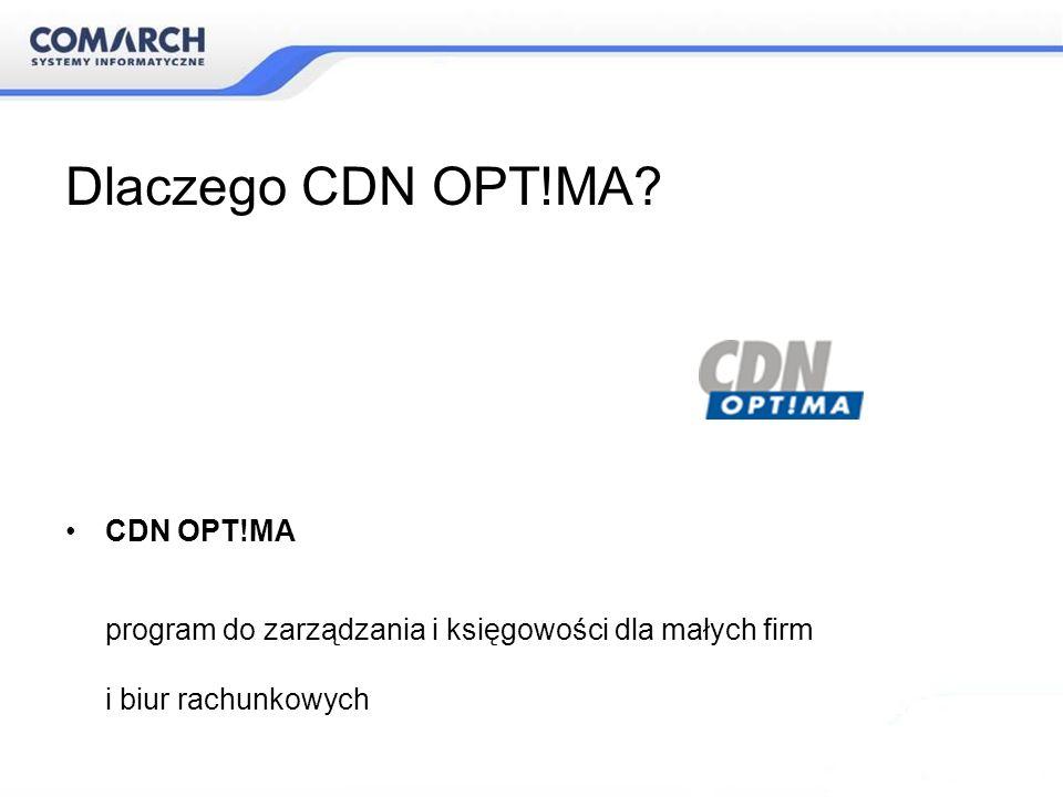 Dlaczego CDN OPT!MA CDN OPT!MA