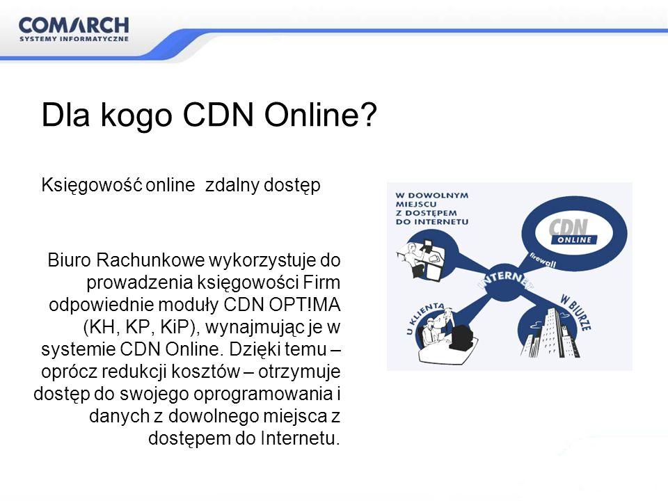 Dla kogo CDN Online Księgowość online zdalny dostęp