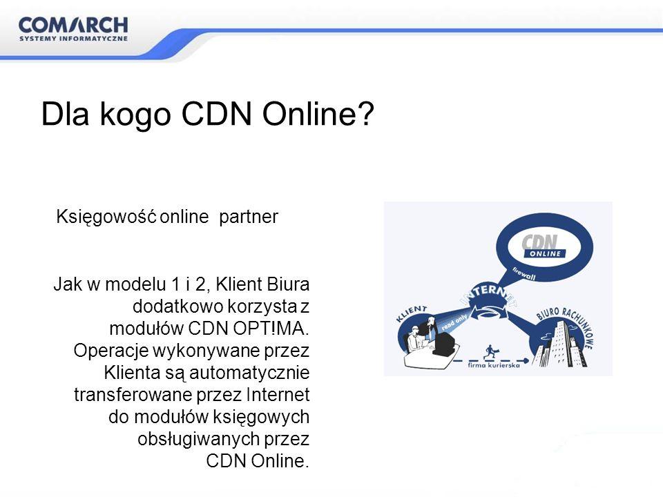 Dla kogo CDN Online Księgowość online partner