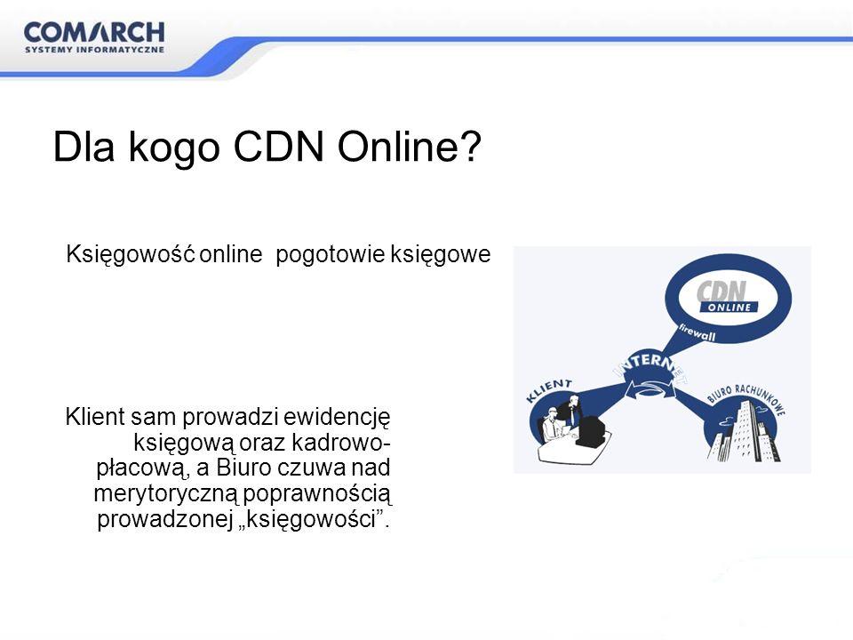 Dla kogo CDN Online Księgowość online pogotowie księgowe