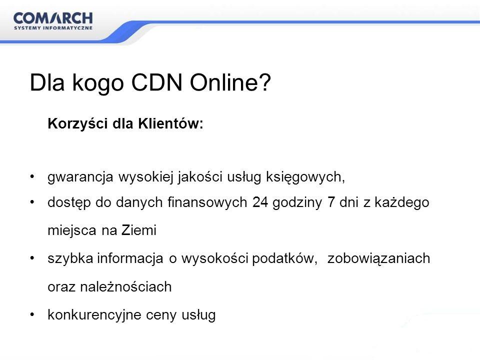 Dla kogo CDN Online Korzyści dla Klientów: