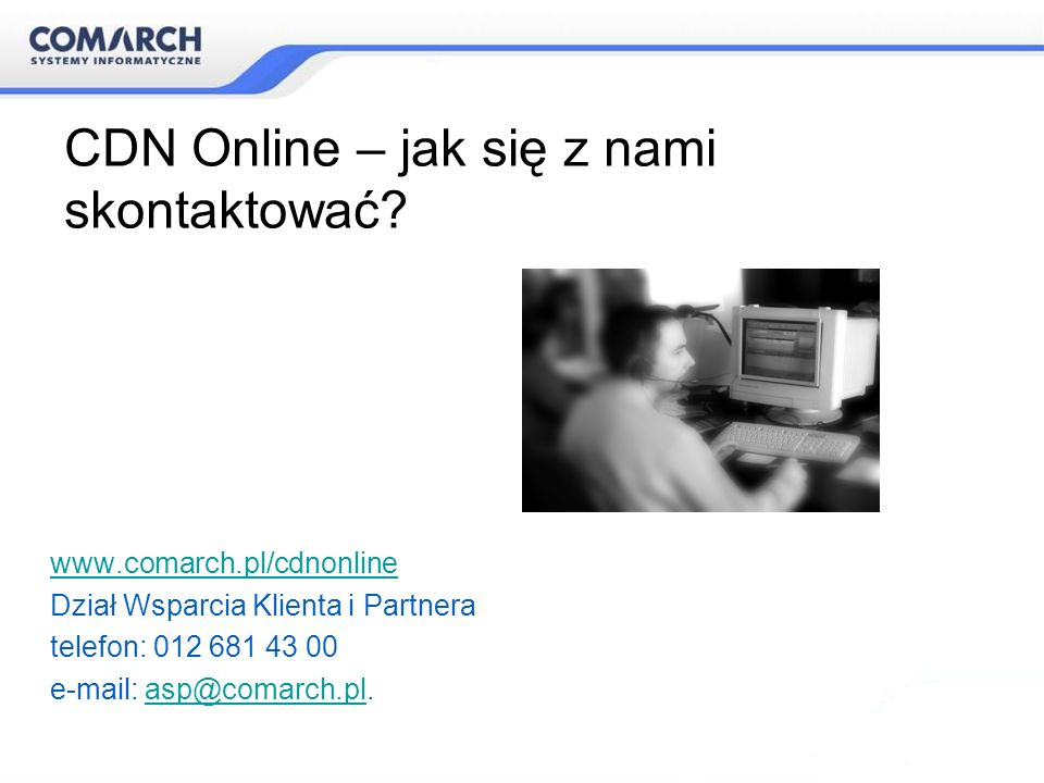 CDN Online – jak się z nami skontaktować