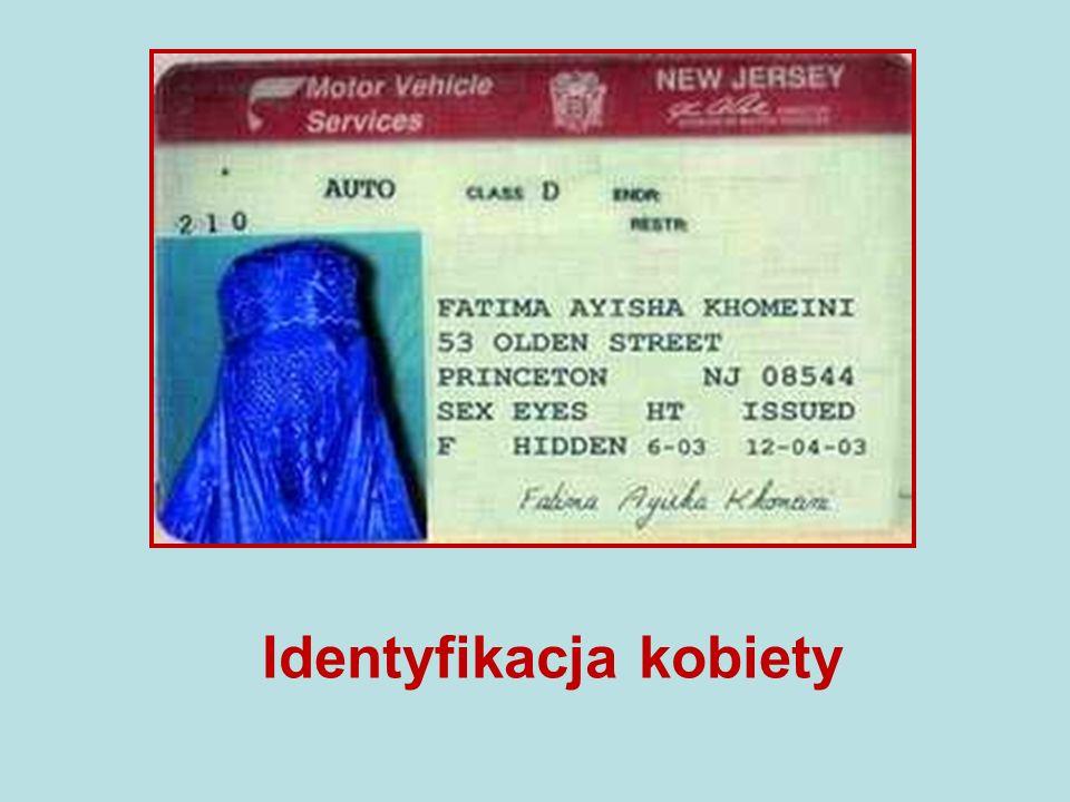 Identyfikacja kobiety
