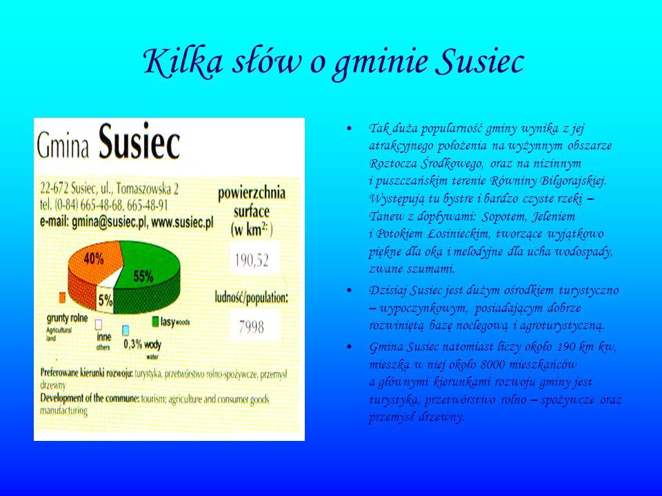Kilka słów o gminie Susiec