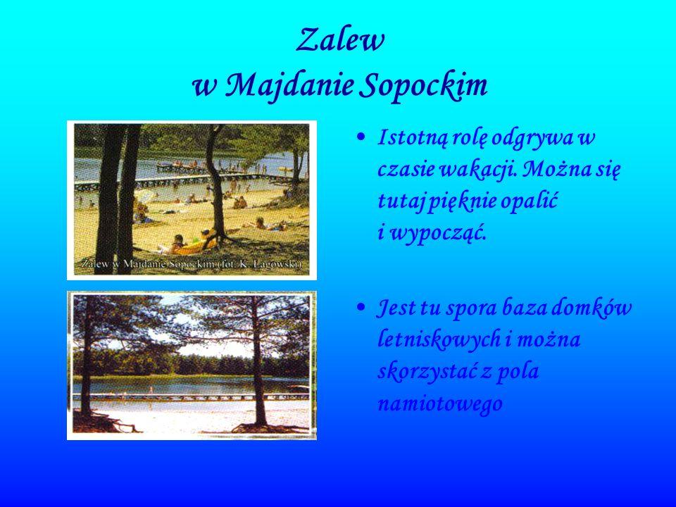 Zalew w Majdanie Sopockim