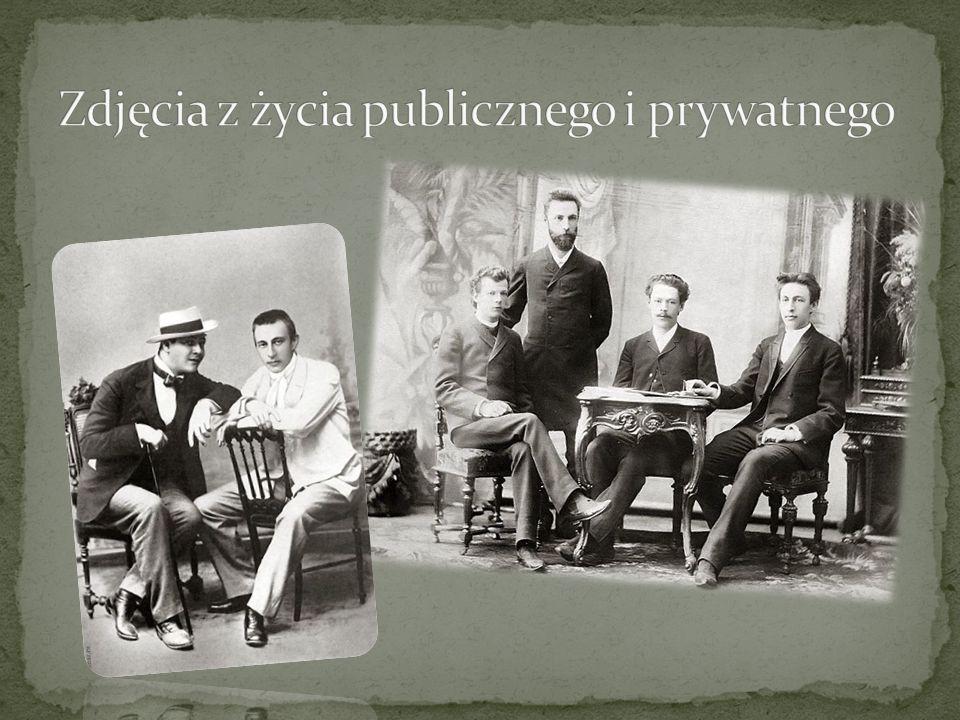 Zdjęcia z życia publicznego i prywatnego