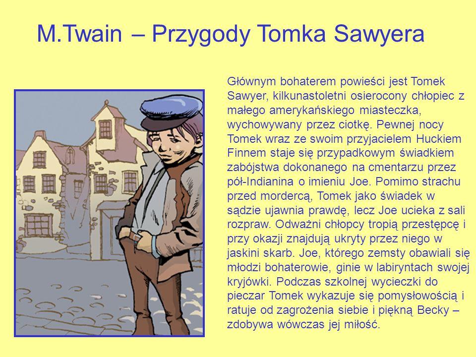 M.Twain – Przygody Tomka Sawyera